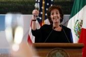 L'ambassadrice des Etats-Unis au Mexique démissionne ! Un nouveau revers pour trump !