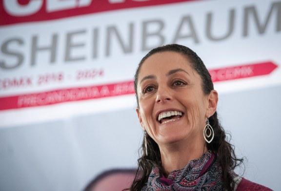 Claudia Sheinbaum élue gouverneure de la ville de Mexico malgré la tragédie Rebsamen !
