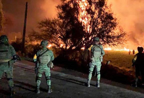 Huachicoleo – La bilan augmente à 85 morts et 58 blessés dans l'incendie de l'oléoduc ! (Videos)