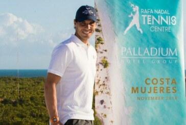 Rafael Nadal inaugure son académie de tennis à Cancun et joue à Acapulco !