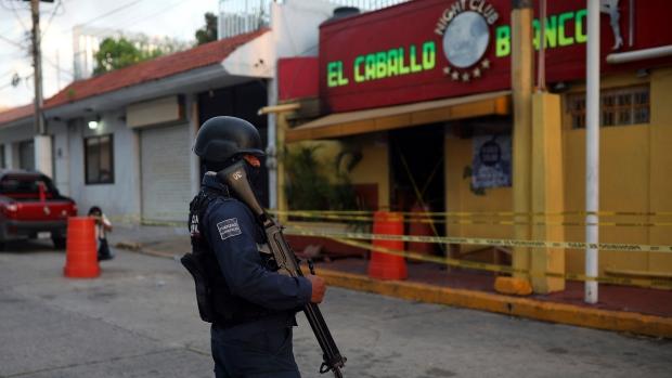Mexique : 23 morts dans l'incendie criminel d'un bar