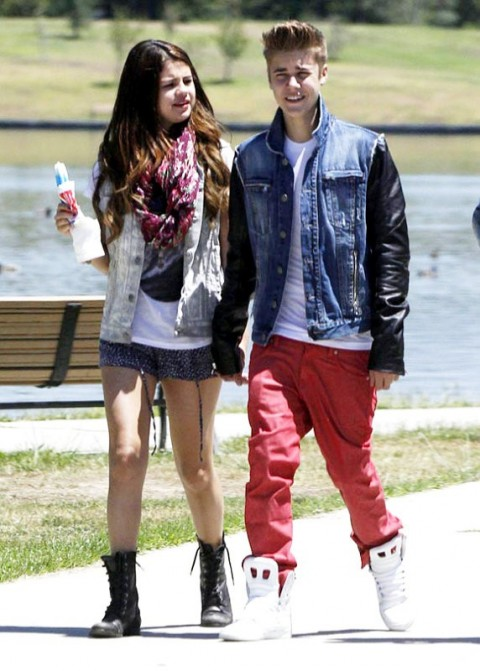 Justin Bieber and Selena Gomez-juntos