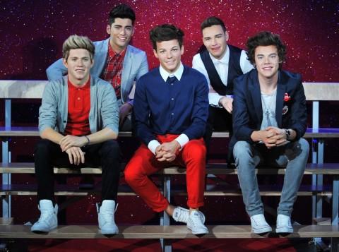 Se desvelan las fíguras de cera de los One Direction