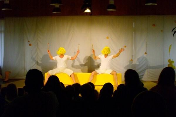"""Theater Monteure: """"federfrein und kratzebein"""", Seligenstadt 2012"""