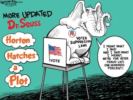 If the Supreme Court Won't Restore Voting Rights, Abolishing the Filibuster Will - LA Progressive