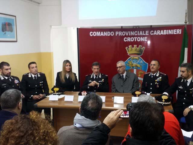 conferenza tempio hera carabinieri
