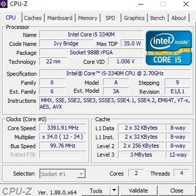 Core i5-3340M