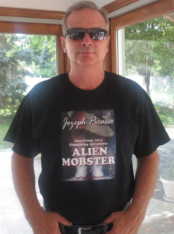1st Alien Mobster T-Shirt