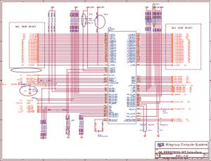 ECS 532 notebook schematic diagrams – Laptop Schematic