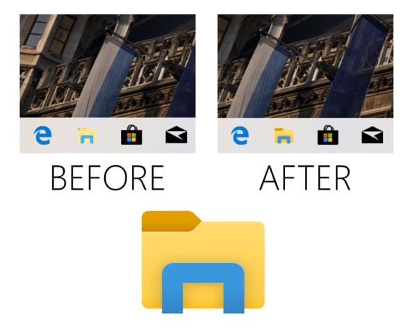 Windows 10 explorateur icône