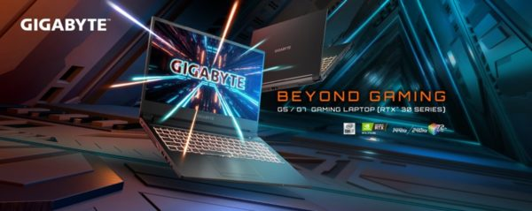 CES 2021 Gigabyte A5 A7 G5 AMD Cezanne Ryzen 5000H GeForce RTX 3000 Ampere