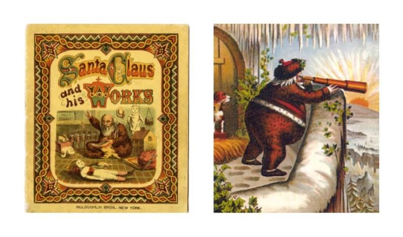 Thomas Nast: Santa Claus and His Works (McLoughlin, 1869).