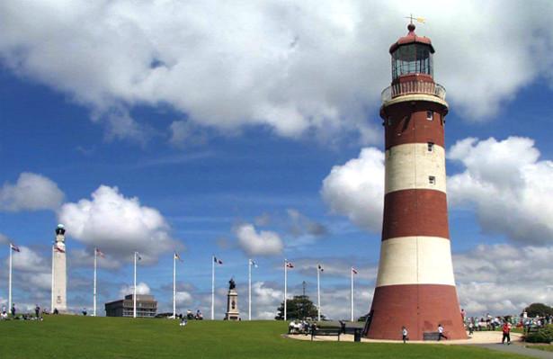 La torre di Smeaton a Plymouth