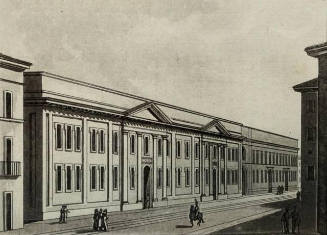Ospedale San Matteo a Pavia (XIX sec.)