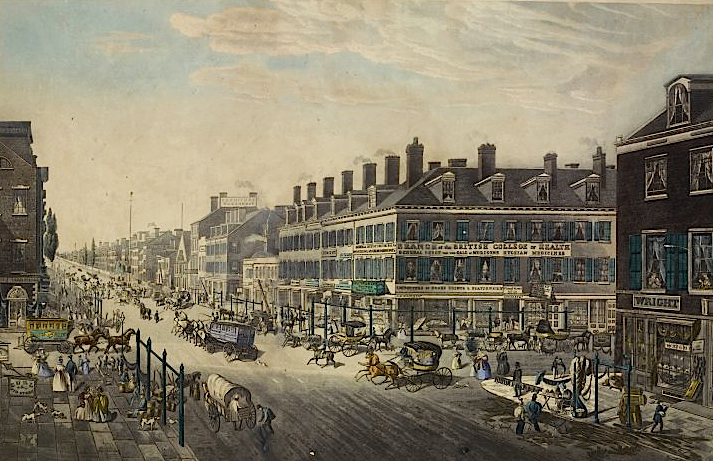 New_York_Broadway_Canal_Street_1834