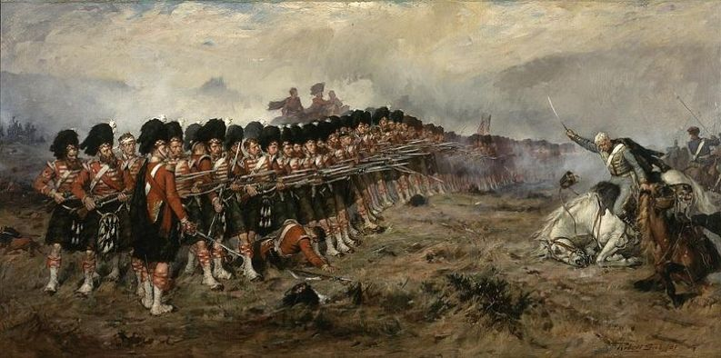"Robert Gibb, ""The Thin Red Line"" - 1881"