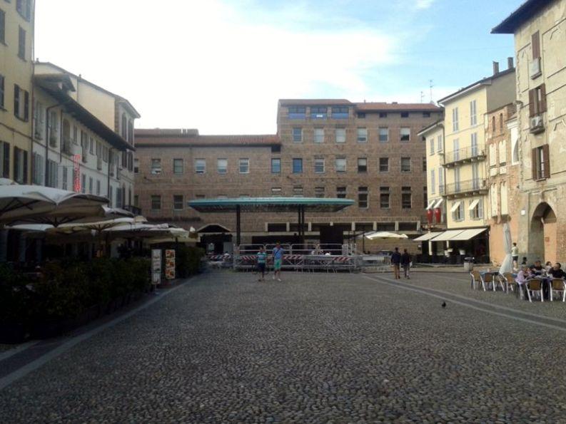 Piazza Vittoria a Pavia