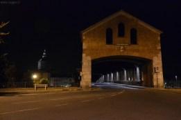 Ponte Coperto, ingresso sud