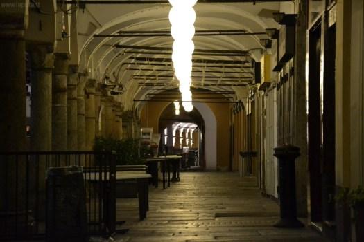 Portici in Piazza della Vittoria