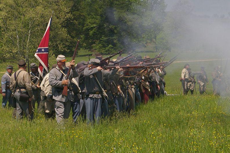Battaglia di Chancellorsville, MamaGeek 2008 (CC-BY-SA 3.0)