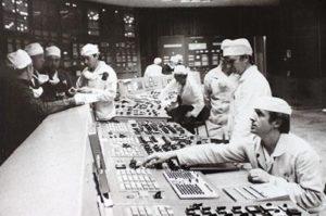 Centrale di Černobyl', sala di controllo del reattore 3.