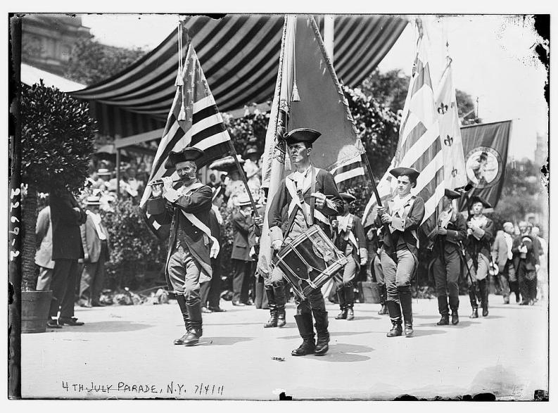 Parata del 4 luglio a New York, 1911