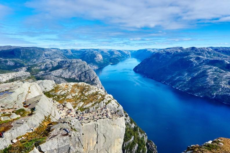 fiordo in Norvegia