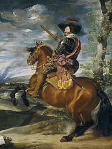 Ritratto equestre del Conte di Olivares, Diego Velásquez circa 1636