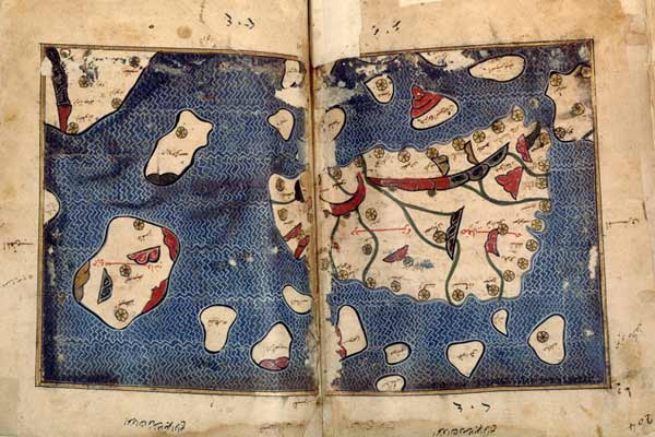 Emirato di Sicilia da Tabula Rogeriana, 1154