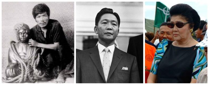 Rogelio Roxas, Ferdinand Marcos, Imelda Marcos