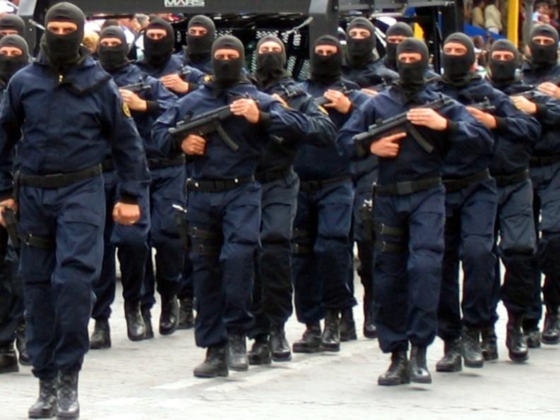 Carabinieri del GIS alla parate delle forze armate a Roma, 2 giugno 2006