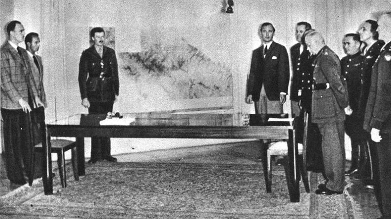 Resa di Caserta, 29 aprile 1945