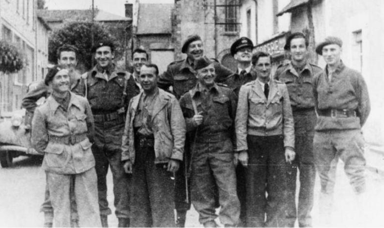 Membri del SOE nel sud della Francia nel 1944