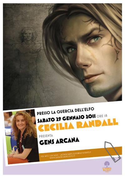 Cecilia Randall - La Quercia dell'Elfo - poster 2011