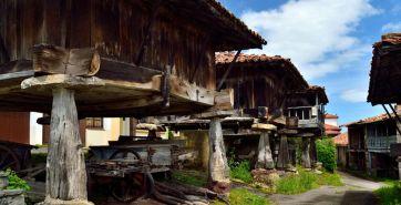 Hórreos en Sietes, Villaviciosa