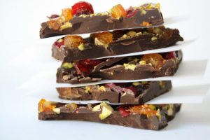 Chocolate Bark Stack