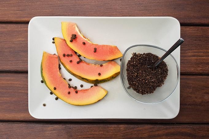 Semillas de papaya para curar enfermedades