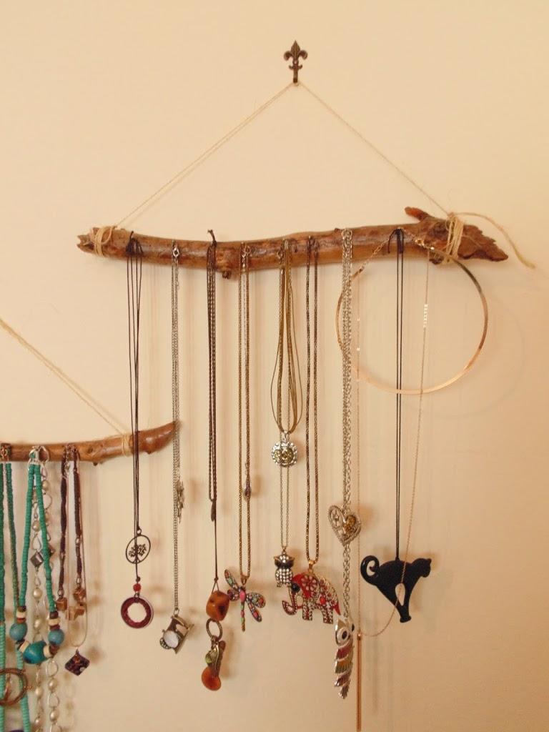 Ganci Per Appendere Collane porta collane in legno - tutorial - la ragazza che cuce