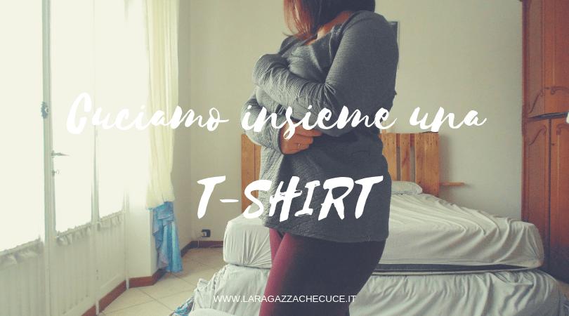 come cucire una t-shirt