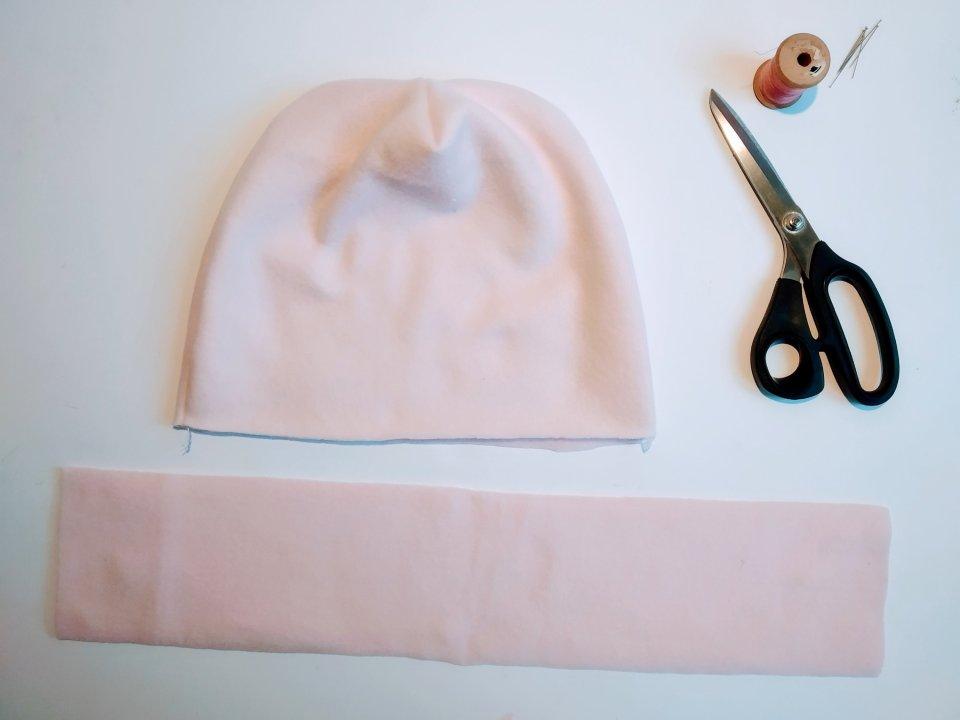 come cucire un berretto per neonati