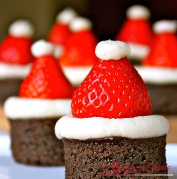 santa-hat-brownie