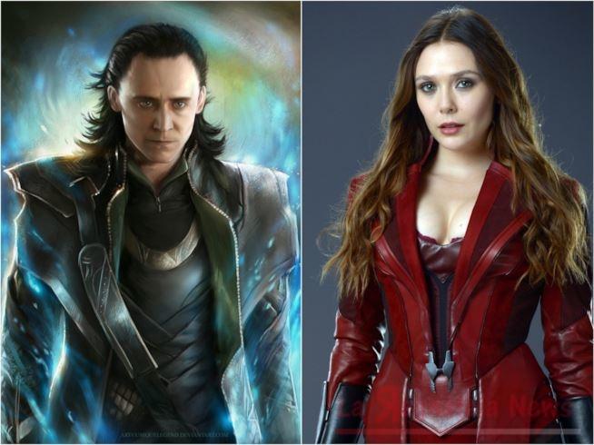 Collaborazione tra Disney e Marvel per realizzare delle serie TV con protagonisti i super eroi. Si inizia con Loki e Scarlet Witch.