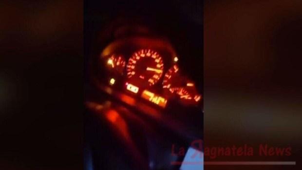 Incidente sull'A1 per eccessiva velocità filmata su facebook