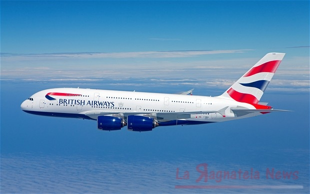 Cyber attack: multa da 200 milioni di euro per British Airways