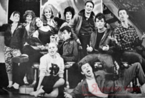 Un'immagine del musical Grease (1971)
