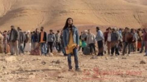 Un frame tratto dalla prima puntata della serie