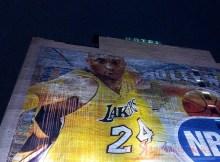 Un murale per la leggenda dei Lakers, Kobe Bryant