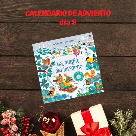 La magix del invierno calendario adviento literario