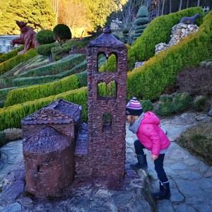 Maqueta Iglesia Juberri Jardines contemporaneos Andorra