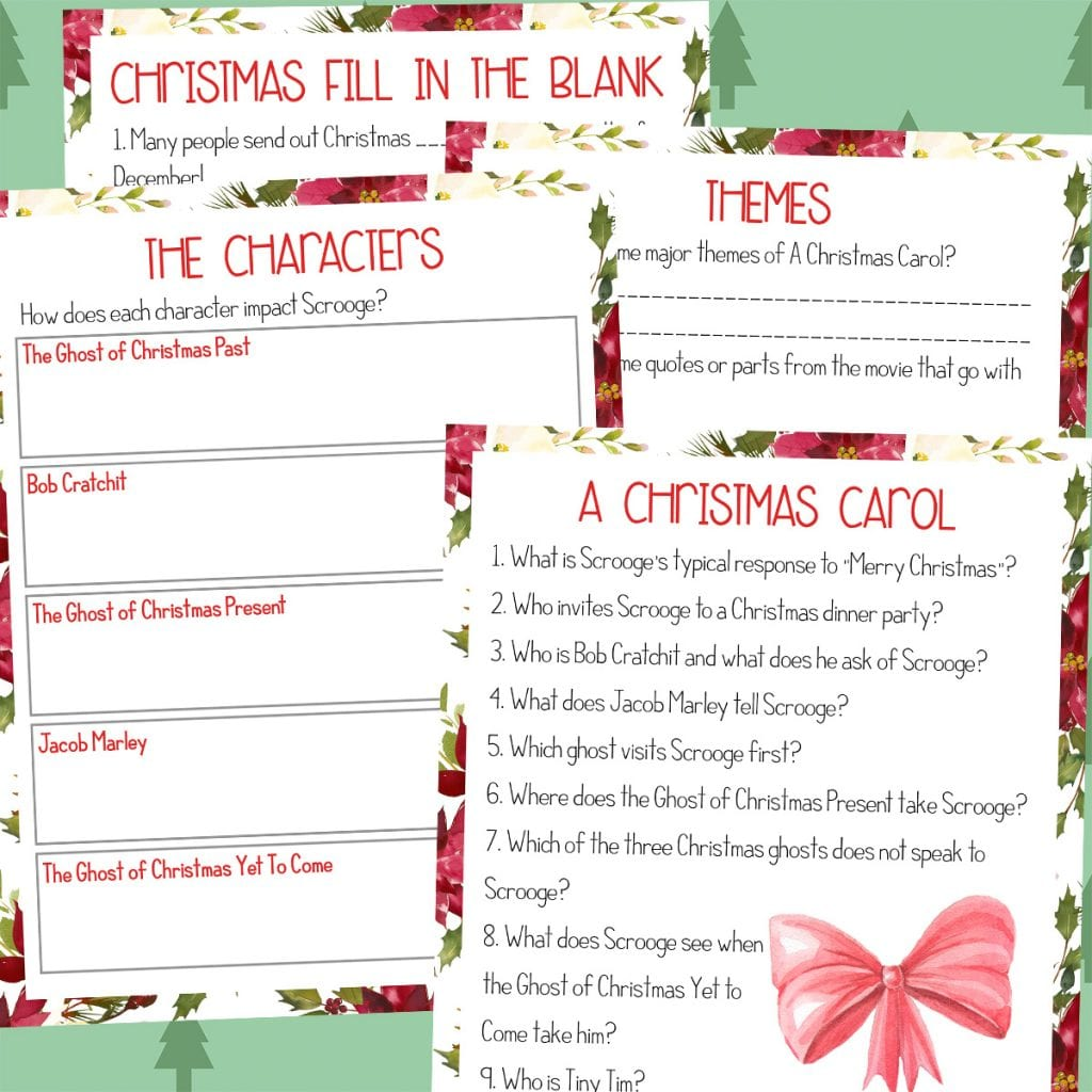A Christmas Carol Vocabulary